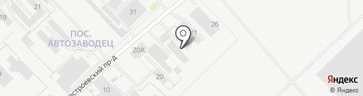 Колорит на карте Набережных Челнов