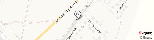 Кировский лес на карте Набережных Челнов