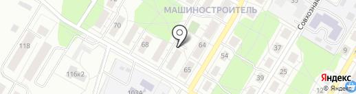 Эксплуатационный участок на карте Ижевска