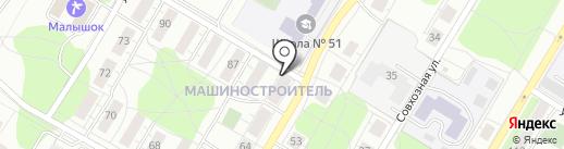 Капитал-18 на карте Ижевска