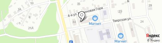 Магазин мясной и рыбной продукции на карте Ижевска