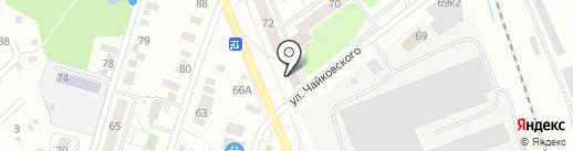 Поликон на карте Ижевска