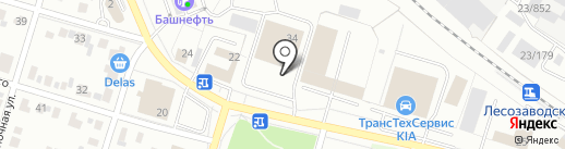 Volvo Car Ижевск на карте Ижевска