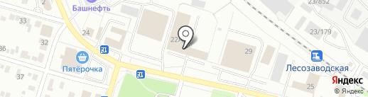 Пожарно-спасательная часть №9 на карте Ижевска