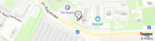 Теплый дом на карте Ижевска