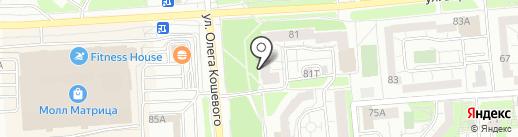 Банкомат, Уральский банк реконструкции и развития, ПАО на карте Ижевска