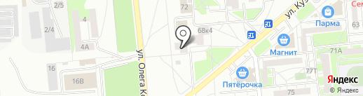 Городская ритуальная служба на карте Ижевска