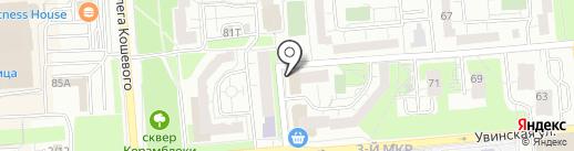 РеСтарт на карте Ижевска