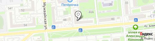 Мобильный папа на карте Ижевска