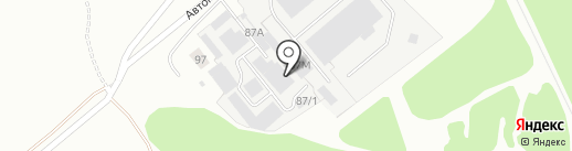 РемКомТранс на карте Ижевска