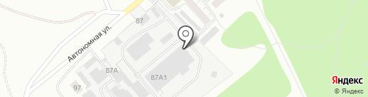 УАС на карте Ижевска