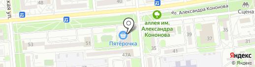 Банкомат, Бинбанк, ПАО на карте Ижевска