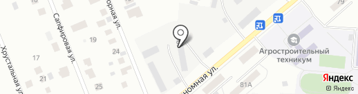 ТЕХБЕТОН на карте Ижевска