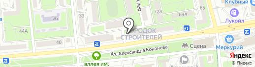 Фотоцентр на карте Ижевска