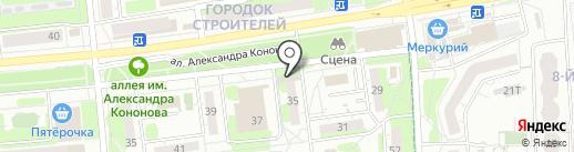Линзомат18 на карте Ижевска