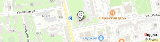Умняши на карте Ижевска
