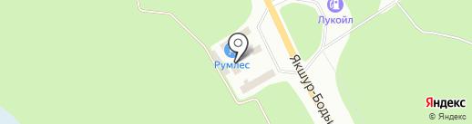 Магазин строительных материалов на карте Ижевска