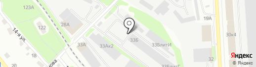 Интерпром на карте Ижевска