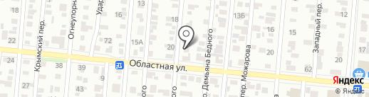 Адвокатский кабинет Стерхова А.С. на карте Ижевска