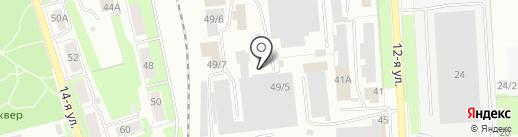 ОСП на карте Ижевска