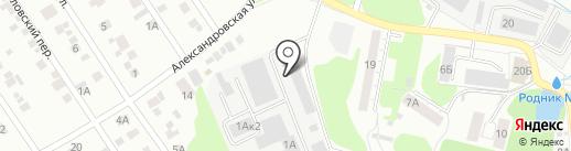 Эко-сервис на карте Ижевска