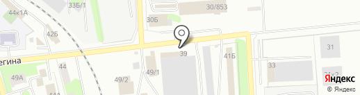 Компания Технолайн на карте Ижевска