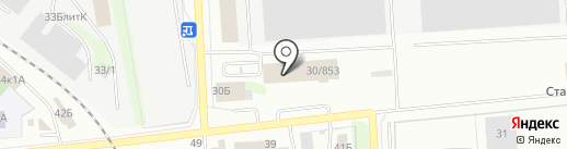 Кузовной центр на карте Ижевска
