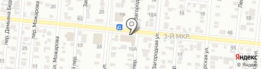 Фургонкомплект на карте Ижевска