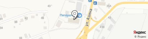 Пятерочка на карте Пирогово