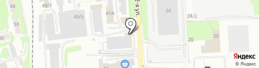 СанПластАвто на карте Ижевска