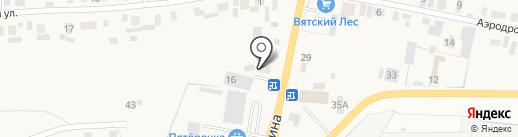 Пироговка на карте Пирогово