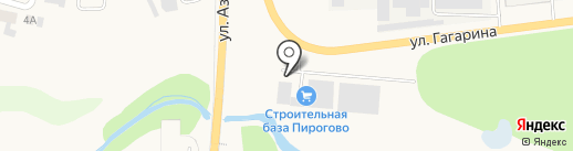 ТактонСнаб на карте Пирогово