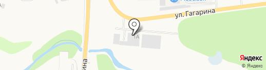 Магазин сантехники и электрики на карте Пирогово