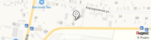 Семейный дом на карте Пирогово