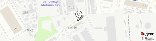 Конфетка на карте Ижевска