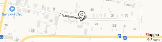Ижторгстрой на карте Пирогово
