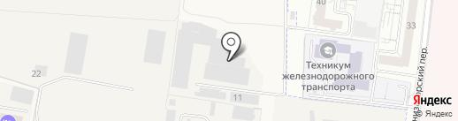 Иж-ПромКонструкция на карте Пирогово