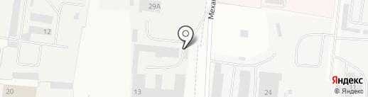 Балдин И.А. на карте Пирогово