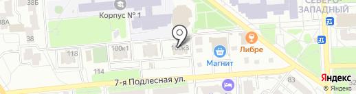 Калибр на карте Ижевска