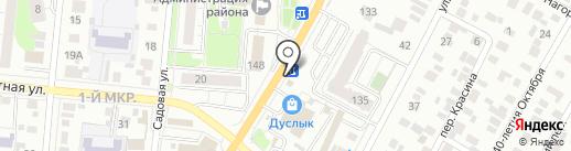 МТС, ПАО на карте Ижевска