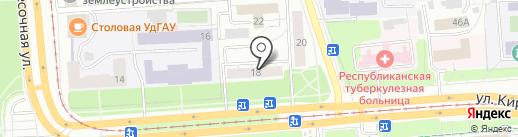 Ижевск-Дез-Сервис на карте Ижевска