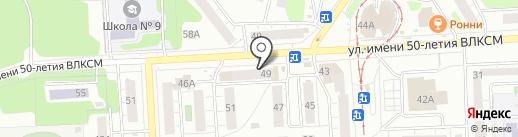 Дрим-Арт на карте Ижевска