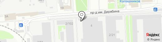 Перфект на карте Ижевска