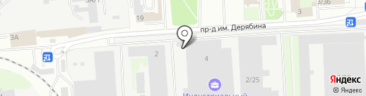 Дельта Транс на карте Ижевска