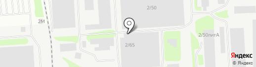 Антей-Нефтемаш на карте Ижевска