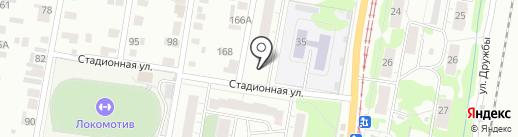 Кедр, ТСЖ на карте Ижевска