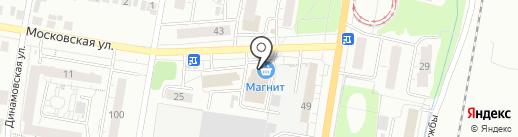 Подушечка на карте Ижевска