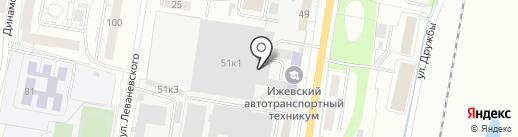 Мастер мебели на карте Ижевска