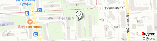Академ Плюс на карте Ижевска