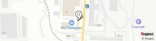 ВВаз на карте Ижевска